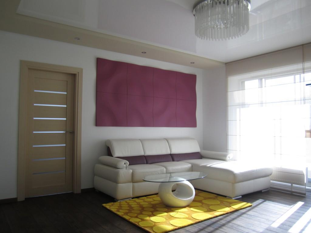 Jaunatviškas buto interjeras