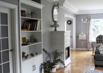 Klasikinio – angliško stiliaus interjeras